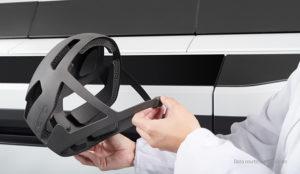 Helmet made with HP 3D 5200 Printer Series