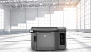 HP 4200 Series 3D Printer in warehouse