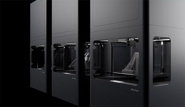 Metal X 3D Printers on display
