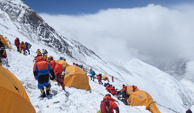 Mount Everest climb company