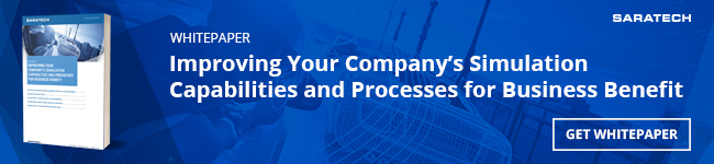 "Saratech's ""Improving Your Company's Simulation Capabilities and Processes for Business Benefit"" whitepaper"