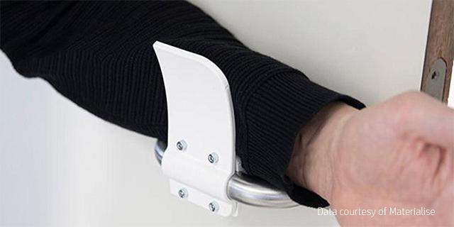 Hands-Free 3D-Printed Door Opener