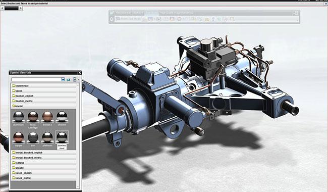 part model in NX