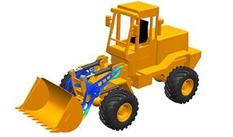 Wheelloader model